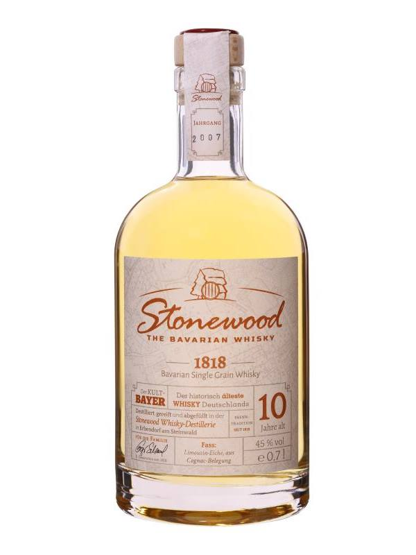 Stonewood 1818 Single Malt- bayischer Whisky 0,7L