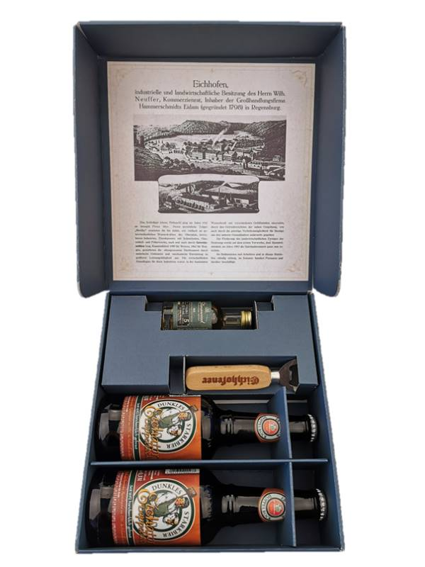 Geschenkbox Whisky und Bier